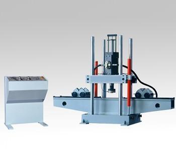 Electro-hydraulic servo blade spring fatigue testing system